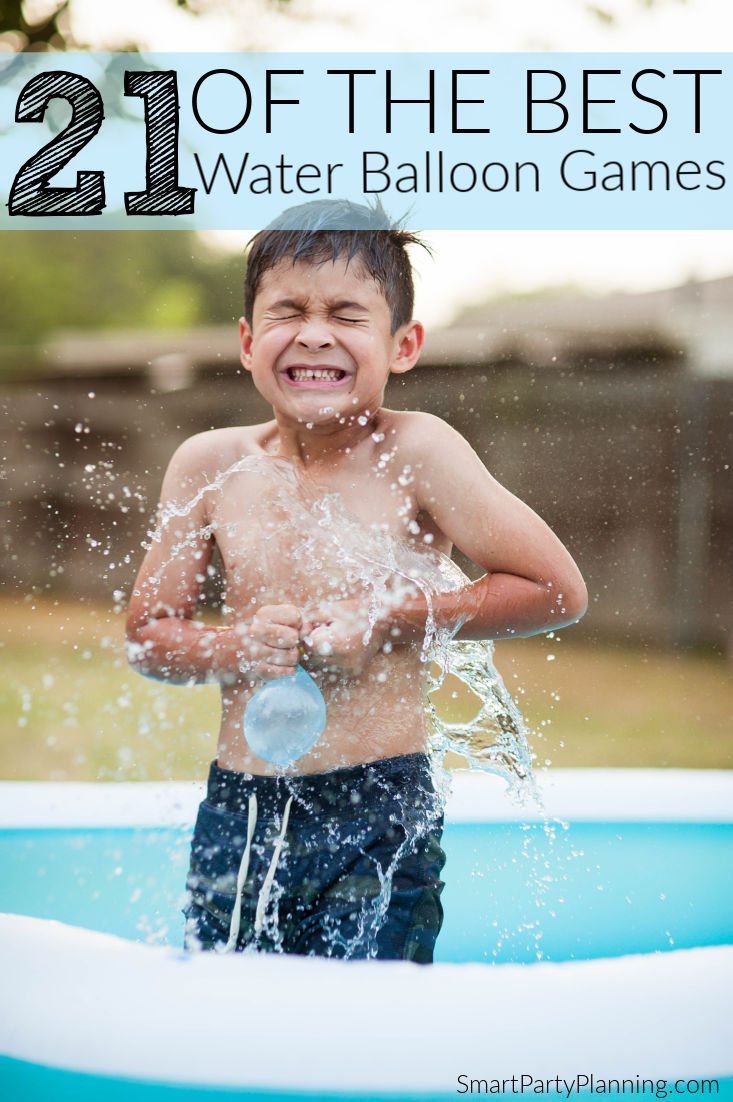 21 of The Best Water Balloon Games