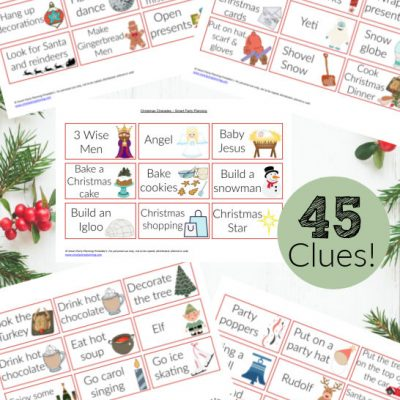 Free Printable Christmas Charades The Whole Family Can Enjoy